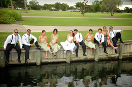Wedding Party by the lake - Palm Aire